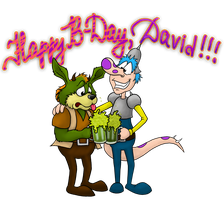 Happy Birthday, David! by Villainess-Vi