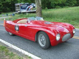 Cisitalia 202 SMM Nuvolari Spyder Driver's Side by Aya-Wavedancer