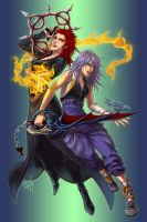 Axel and Riku Rule 63 by Nijuuni