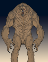 Werebear by ImmaculateReprobate