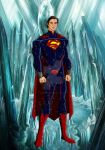 Superman in Ice Palace by Kamran10000