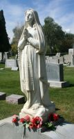 Mount Olivet Cemetery Mary 34 by Falln-Stock