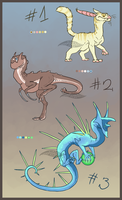 Creature adopts (OPEN) by Virensere