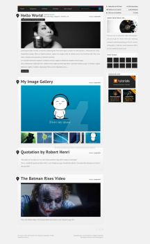 PlayList Wp and HTML Theme 2 by CHemiCalINCK