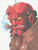 HELLBOY by JUANPUIS