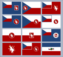Czechoslovak Togo alternative flags by SoaringAven