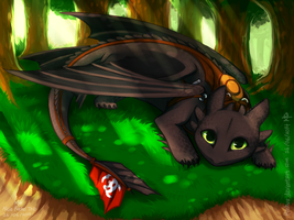 Toothless by Rashuu
