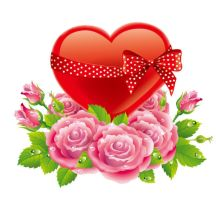 Valentines-Day-Rose-Love by vectorbackgrounds