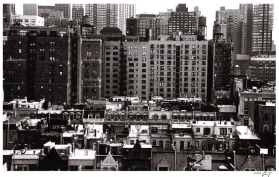 Manhattan Rooftops by kopanda