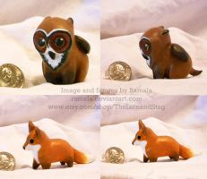 Mini Beasties (Sculpt) by Ramala