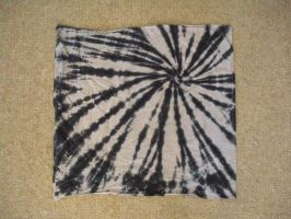 Tie Dye Black and White Stripe by Spudnuts
