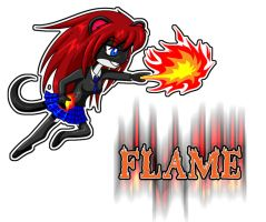 Flame by dystar