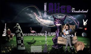 Alice In Wonderland - Cover Book by MissVBlackmore