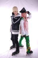 Simca and Kazu Air Gear Cosplay by varzam