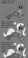 Hair Tutorial by Daedric-Pony