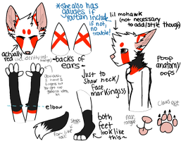 recluse fursuit ref by fuhrer