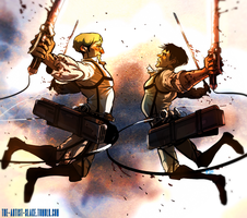 Attack on Titan - Nothing left to lose by looklooklookitabook