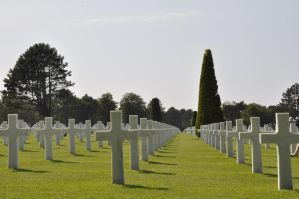 Colleville Cemetery 18 by Cpl-Highway