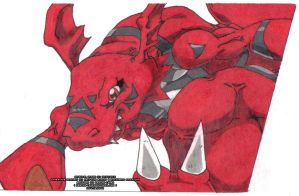Mighty Red by Drache-Lehre