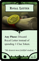Royal Letter by Konsumo