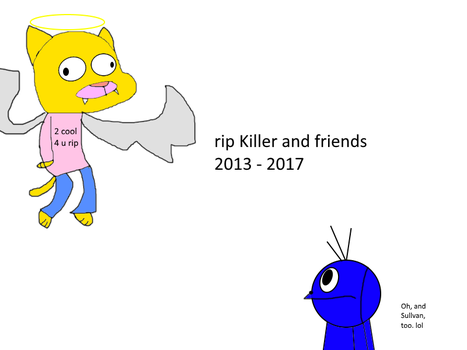 Rip GumballCarieDarwin's old acc (and killer) by widward202thesecond