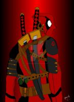 DeadPool by darkshadow966
