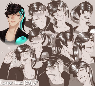 Candide March Expression Sheet by 0alacrity