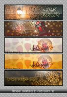 Ramadan Signatures by Crazy-Barca