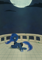 Princess Luna by Gaiascope