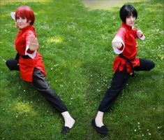 Ranma 1/2 by Bell-hime