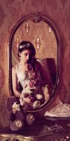 Vintage Boudoir: My Reflection by IreneAstral