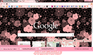 Cherry Pink Chrome Theme by sweetmissfifi