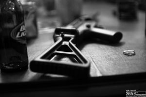 Guns and Beer by RyanP365