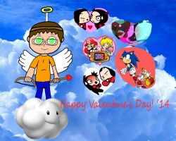Happy Valentines Day '14 by rabbidlover01