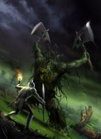 Crossing the marshes by ChrisRa