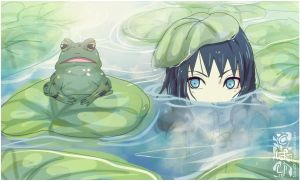 The Frog and Tori ..... by Tobari21