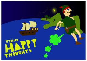 Happy Thoughts by Bakus-design