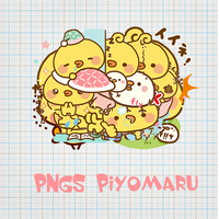 [ 141118 ] PNGs Piyomaru by HunhanStyle
