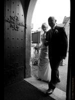 Entering Church by GMCPhotographics