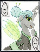 The Strong-Willed Queen of Clubs: Queen Chrysalis by The1King