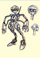 yet another robot by Emanhattan