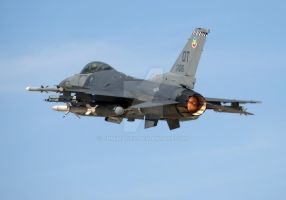F-16 Full Screen Departure by jdmimages