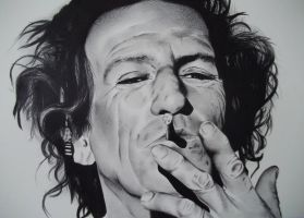 Keith Richards by LianneC