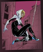 Spider Gwen by StarExtinction