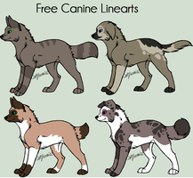 Canine Adoptables set  2. by MichelsAdoptions