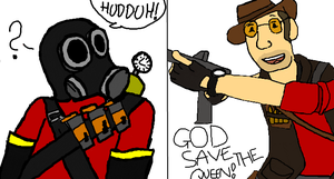 Team fortress 2 by VallaVallaVanilia