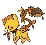 Wheat themed plant pony auction - open by OfficerMittens
