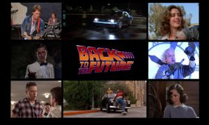 Back to the Future Wallpaper by Jeffrey-Scott