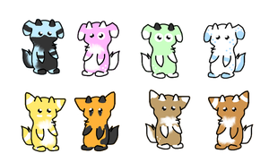 Dango Derg Pups 1 by Rising-At-Midnight