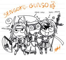 Sengoku_Gunso by dowchan